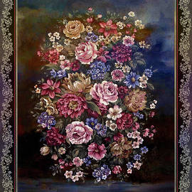 Vintage Bouquet of Flowers-nostalgia series by Grace Iradian