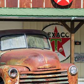 Vintage Chevy Truck by Mary Ann Artz