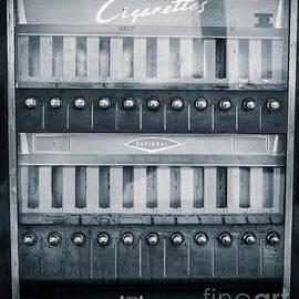 Vintage Cigarette Coin-op Machine by Edward Fielding