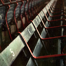 Vintage Fenway Park Seats by Joann Vitali