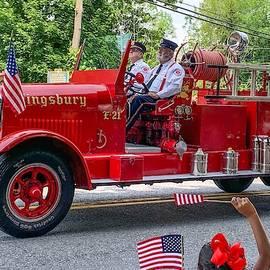 Vintage Fire Engine by Kendall McKernon