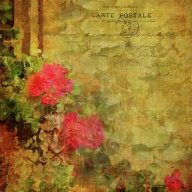 Vintage Floral Beauty by Carla Parris