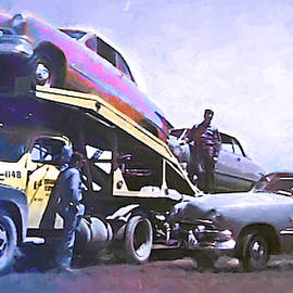 Vintage Ford Car Carrier by David King