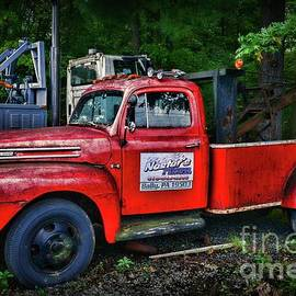 Paul Ward - Vintage Ford F4 Tow Truck