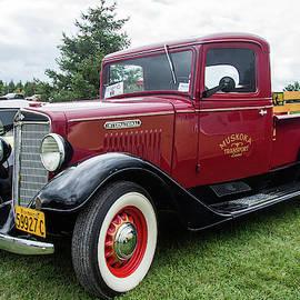 Vintage International Pickup Truck 2 by Andrew Wilson