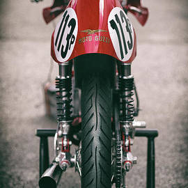 Vintage Racing Moto Guzzi by Tim Gainey