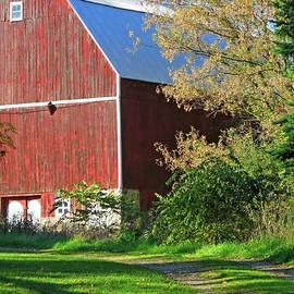 Vintage Barn by Ann Horn