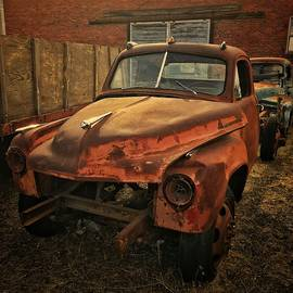 Vintage Studebaker Pickup  by Jerry Abbott