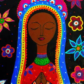 Virgen Guadalupe by Pristine Cartera Turkus