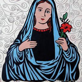 Virgin Mary  by Eman Allam