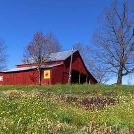 Virginia Barn Quilt by Norma Brandsberg