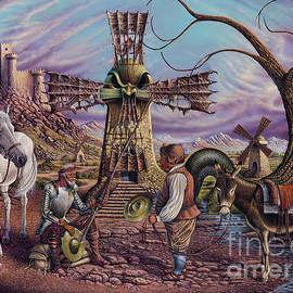 Visiones De Don Quijote by Ricardo Chavez-Mendez