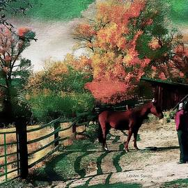 Visiting My Horse by Lenore Senior