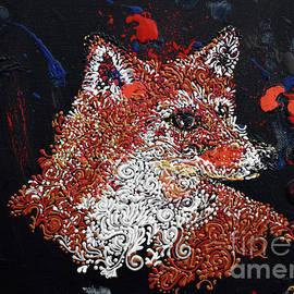 Vulpes vulpes by Cheryle Gannaway