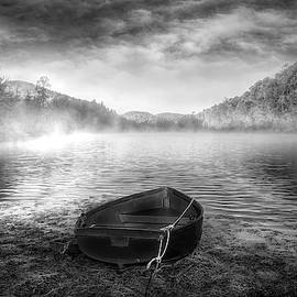 Wait for the Morning in Black and White by Debra and Dave Vanderlaan