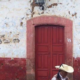 Walking By In Patzcuaro by Rosanne Licciardi