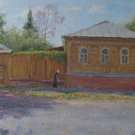 Walking down the street  by Nikolay Dmitriev