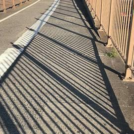 Walkway Brooklyn Bridge by Virginia Giblin