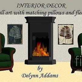 Wall Art with matching Pillows or Fleece Home Decor by Delynn Addams by Delynn Addams