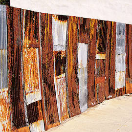 Wall of Rust by Claude LeTien