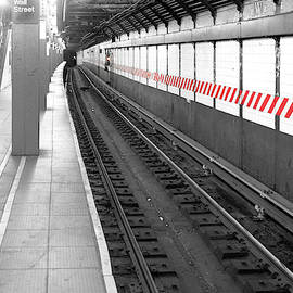 Sharon Popek - Wall Street Subway Stripes