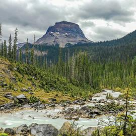 Wapta Mountain Landscape by Dan Sproul