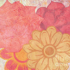 Warm Bouquet Digital Paint by Diann Fisher