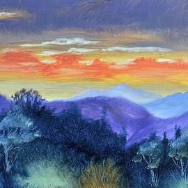 Washington State Sunrise by Warren Thompson