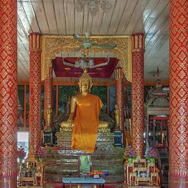 Wat Pa Sang Ngam Phra Wihan Interior Dthlu0581 by Gerry Gantt