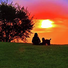 Watching the Sun Go Down by Regina Geoghan