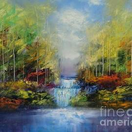 Water Fall by George Peebles