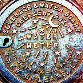 Water Meter Style In New Orleans by John Rizzuto