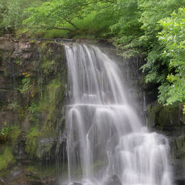 East ,gill ,force, Waterfall,keld by Clive Beake