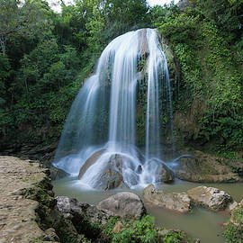 Waterfall Near Soroa, Cuba by Mark Duehmig