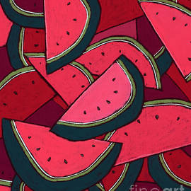 Watermelons Everywhere by David Hinds
