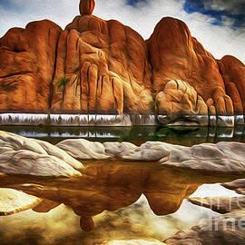 Watson Lake Arizona 33 by Bob Christopher