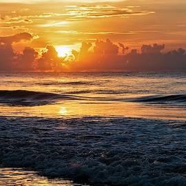 Waves Awakening in Hilton Head by Mary Ann Artz