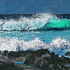 Waves On Napili Bay by Darice Machel McGuire