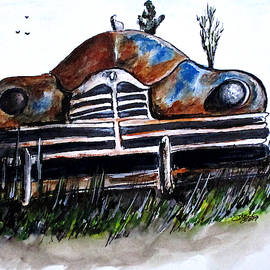 Weathered And Rusting by Clyde J Kell