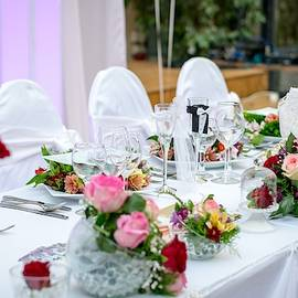 Wedding Table by Top Wallpapers