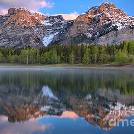 Wedge Pond Sunrise Reflections by Adam Jewell