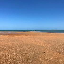 Weipa Beach Life The Tide is Out by Joan Stratton