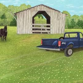 Wellman's Barn by Mary Ann King