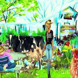 Wendy's  Farm by Debra Lynch