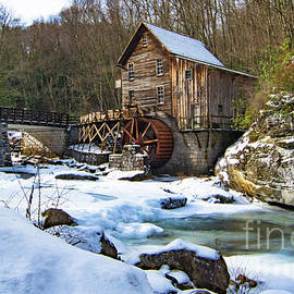 West Virginia Mill in Winter by Norma Brandsberg