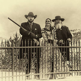 Western Trio by Maria Coulson