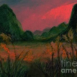 Last Glimpse of Sunlight   by Lavender Liu