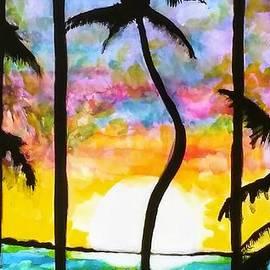 When the sun goes down by Chrisann Ellis