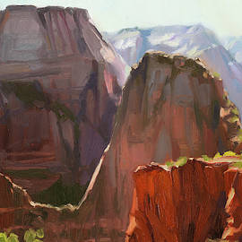Where Angels Land by Steve Henderson