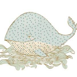 Whimsical Whale by Ruth Moratz